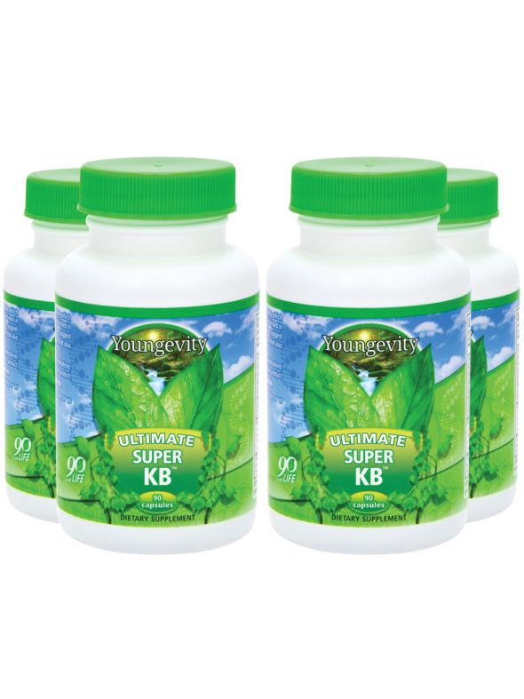 Ultimate Super KB™ - 90 capsules (4 Pack)