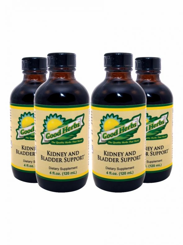 Kidney and Bladder Support (4oz) - 4 Pack